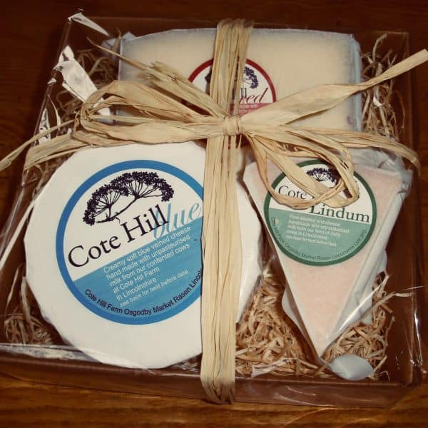 Cote Hill Three Cheese Hamper