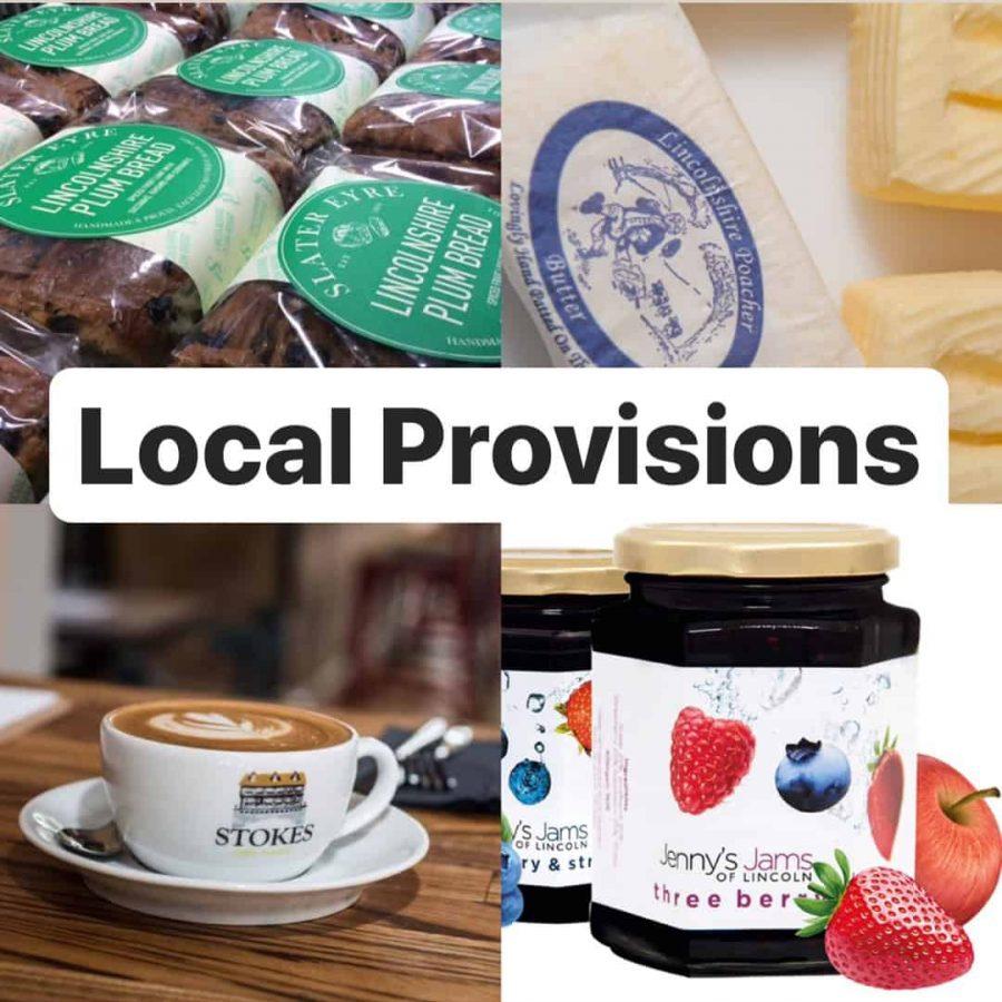 Local Lincolnshire provisions