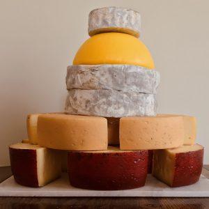 Cote Hill Cheese Celebration Wedding Cake 80+