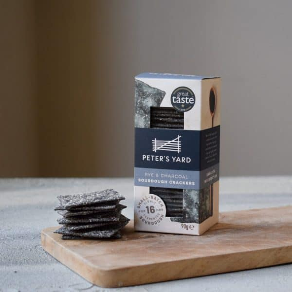 Peters Yard Crackers Charcoal & Rye