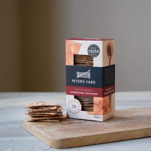 Peters Yard Crackers Fig And Spelt