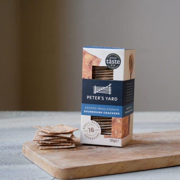 Peters Yard Crackers Seeded Wholegrain
